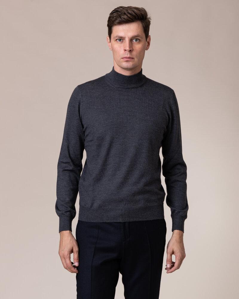 Sweter Gran Sasso 55155_14290_098 ciemnoszary - fot:2