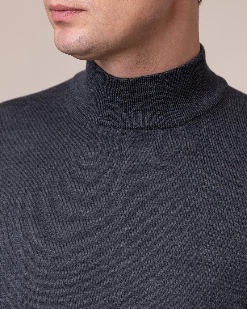 Sweter Gran Sasso 55155_14290_098 ciemnoszary - fot:3