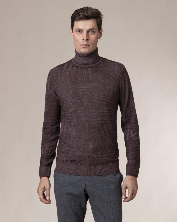 Sweter Baldessarini 5003_30005_8308 brązowy