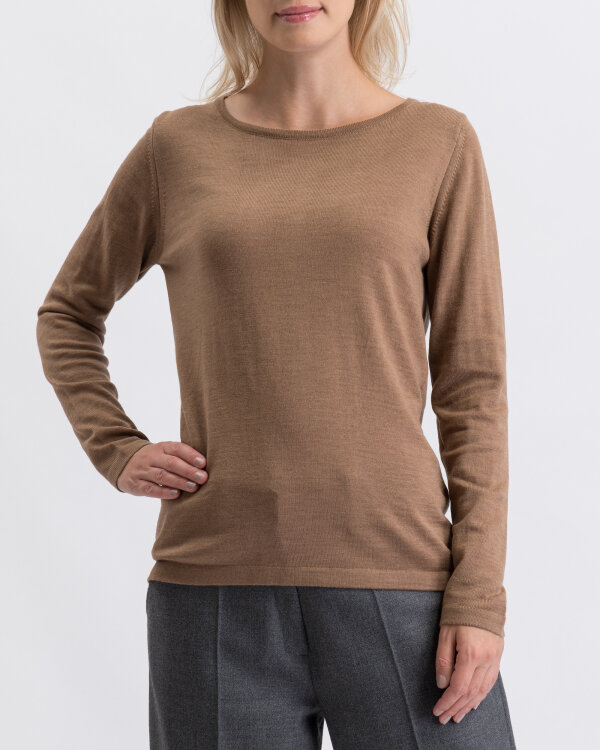 Sweter Stenströms 450004_2777_250 brązowy