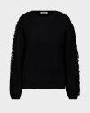 Sweter Gas 6669_CHRISSIE FRINGE_0200 czarny