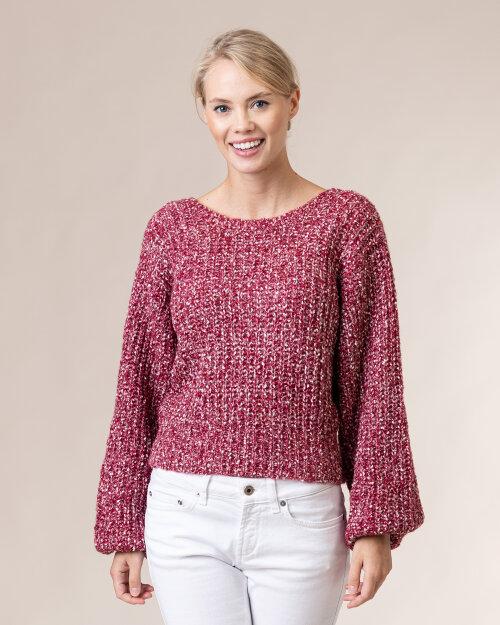 Sweter Na-Kd 1018-004708_MULTIKOLOR czerwony