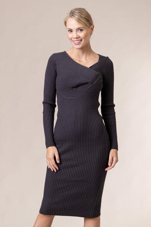 Sukienka Na-Kd 1018-004629_DARK GREY ciemnoszary