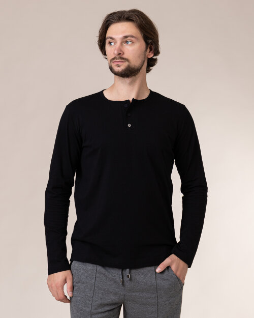 T-Shirt Philip Louis NOS_M-TSH-0045 NOS_BLACK czarny