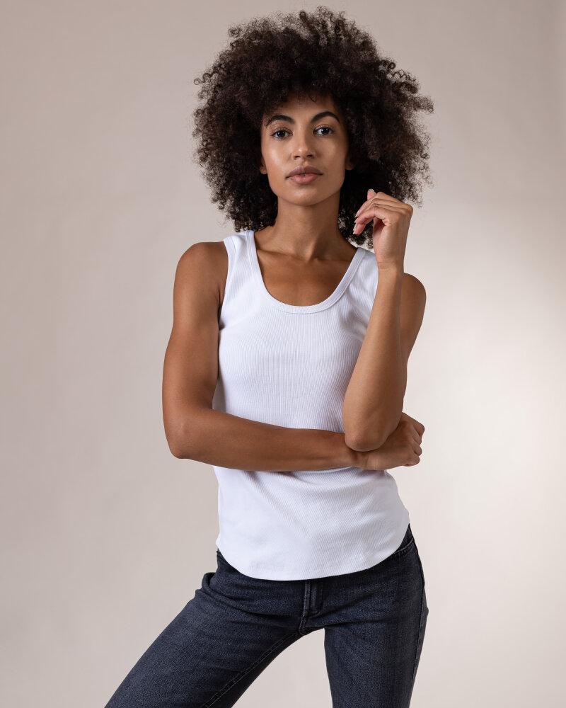 T-Shirt Fraternity NOS_W-TOP-0022 NOS_WHITE biały - fot:1