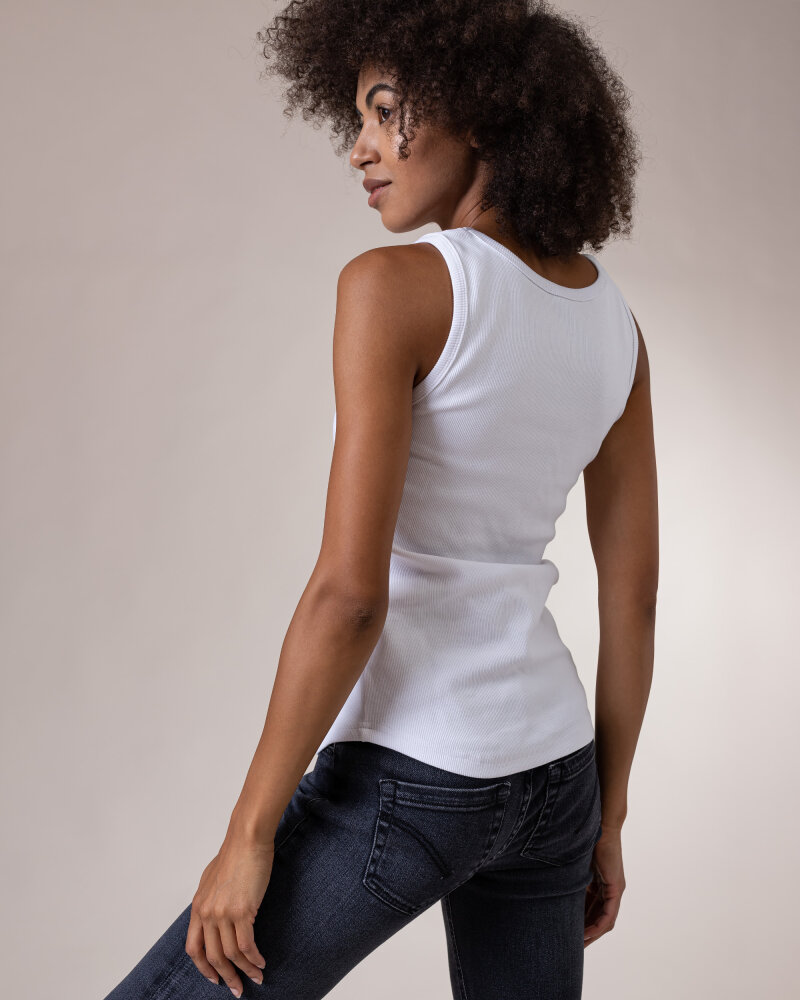 T-Shirt Fraternity NOS_W-TOP-0022 NOS_WHITE biały - fot:4