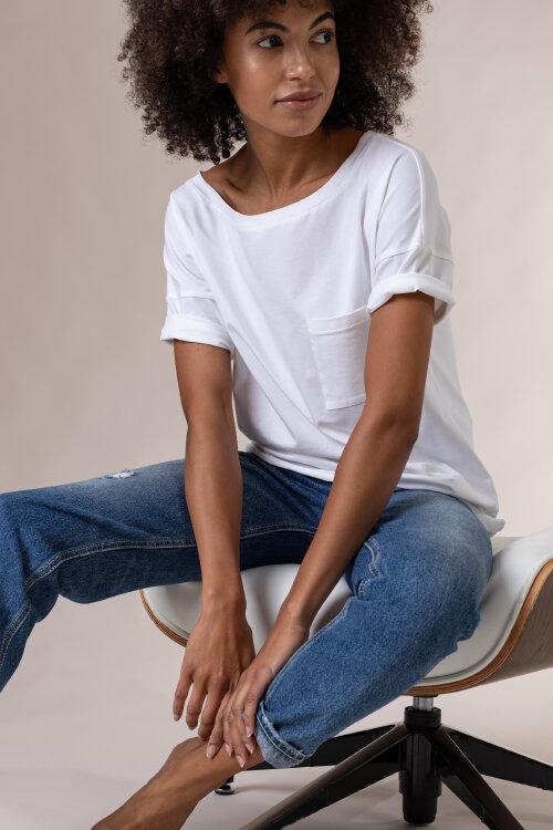 T-Shirt Fraternity NOS_W-TSH-0048 NOS_WHITE/B biały
