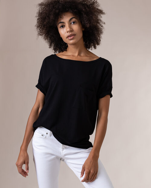 T-Shirt Fraternity NOS_W-TSH-0048 NOS_BLACK/V czarny