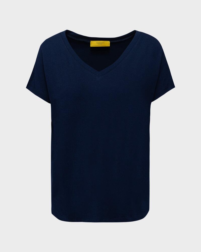 T-Shirt Fraternity NOS_W-TSH-0061 NOS_NAVY/V granatowy - fot:1