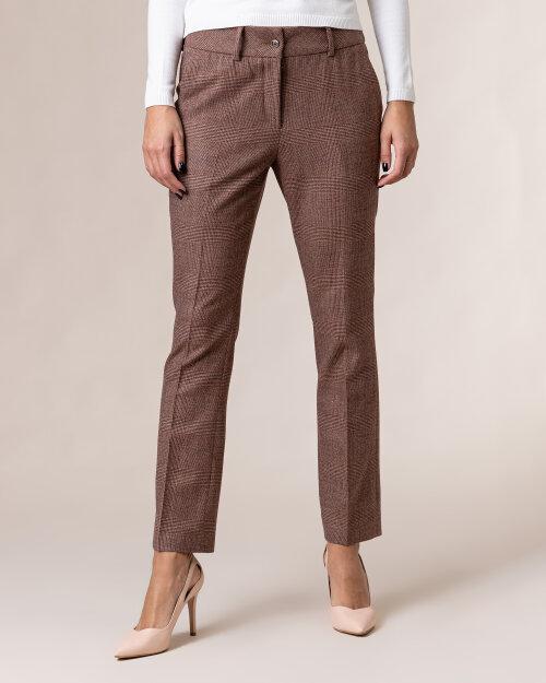 Spodnie Cavaliere 20HV20113_EDIT CHECK_45 bordowy