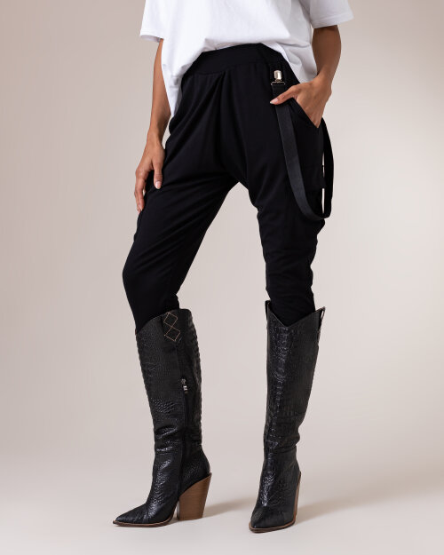 Spodnie Fraternity NOS_W-TRO-0113 NOS_BLACK czarny