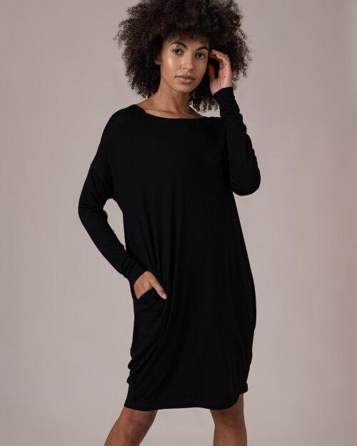 Sukienka Fraternity NOS_W-TUN-0020 NOS_BLACK/V czarny