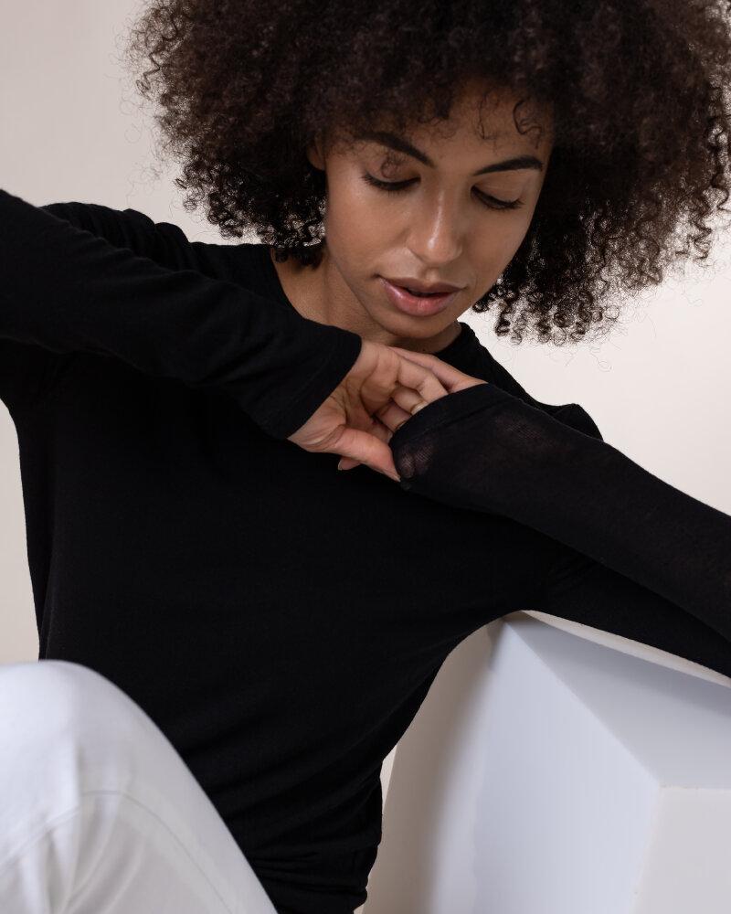 T-Shirt Fraternity NOS_W-TSH-0098 NOS_BLACK/W czarny - fot:5