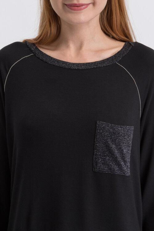 T-Shirt Gas 98798_PAMPA_0200 czarny