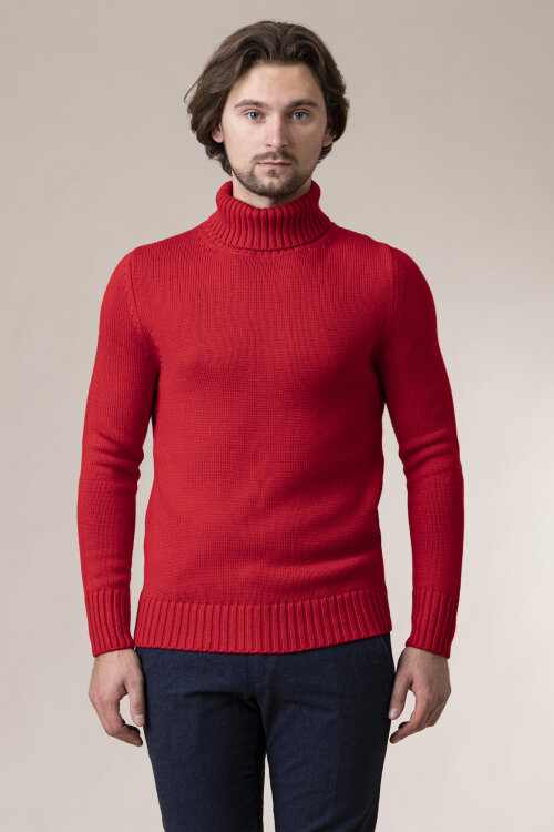 Sweter At.p.co A21439 _5050_460 czerwony