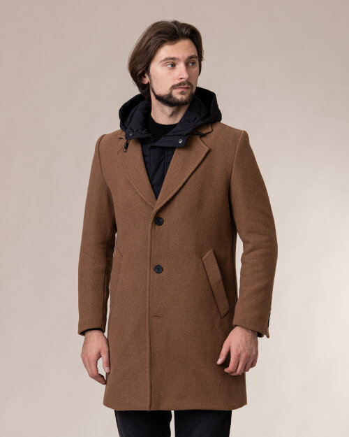 Płaszcz Antony Morato MMCO00675_2068 brązowy