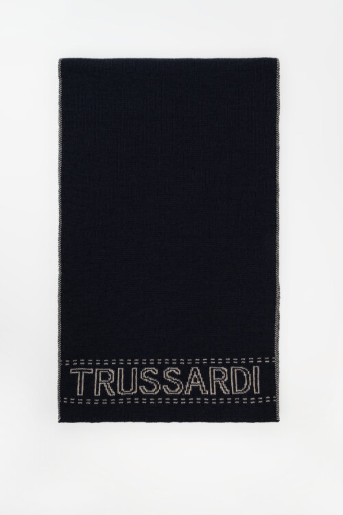 Akcesoria Trussardi Jeans 57Y00003_9Y099999_U711 granatowy