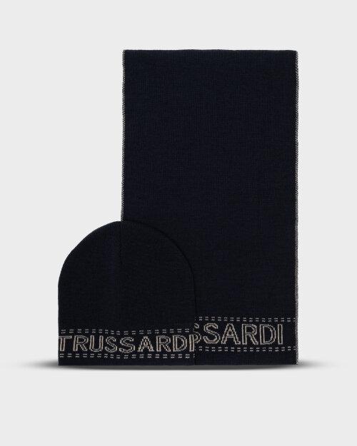 Akcesoria Trussardi  57Y00003_9Y099999_U711 granatowy