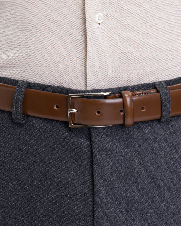 Pasek Oscar Jacobson 150040_162 COGNAC brązowy