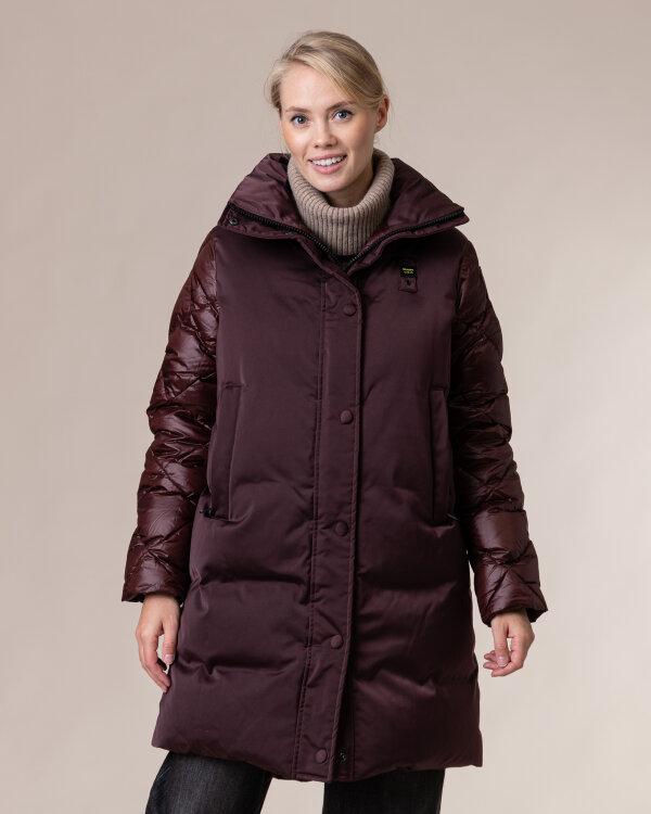 Płaszcz Blauer BLDK03068_594 bordowy