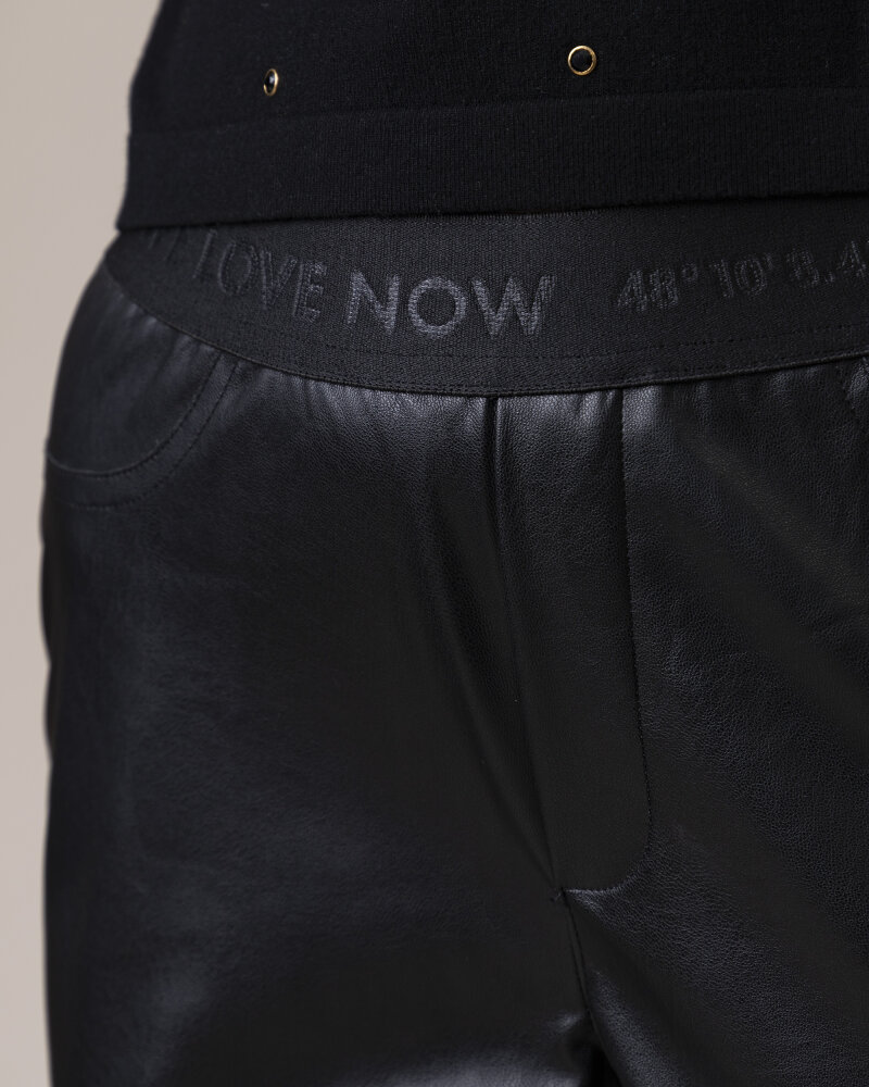 Spodnie One More Story 101446_1100 czarny - fot:3