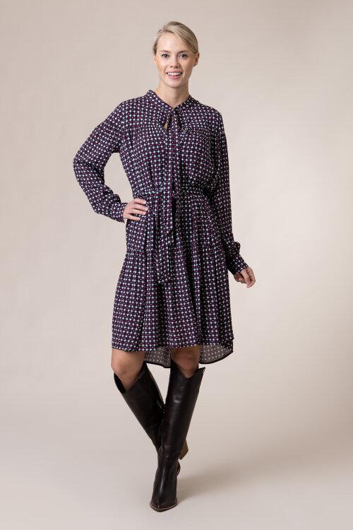 Sukienka Trussardi Jeans 56D00463_1T004823_R727 bordowy