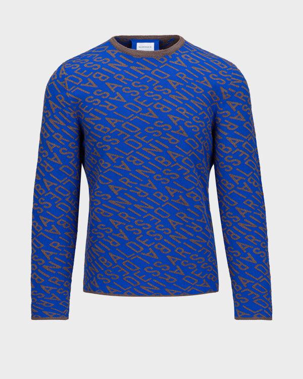 Sweter Baldessarini 5010_30009_6213 niebieski