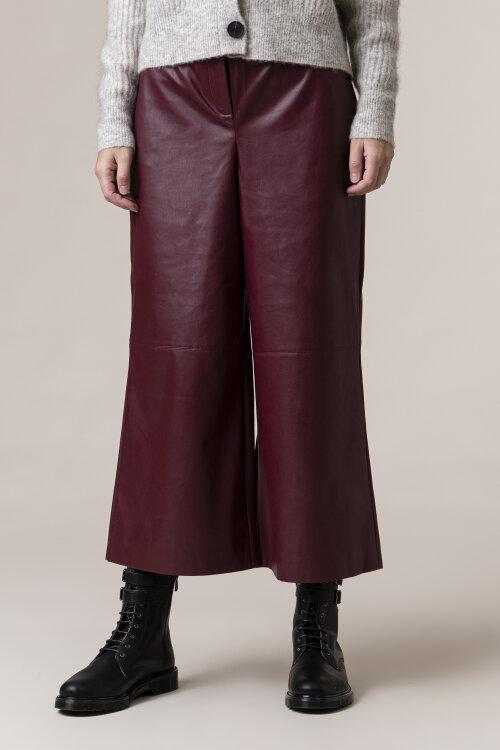 Spodnie One More Story 101481_1223 bordowy