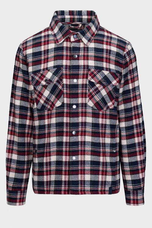 Koszula Colours & Sons 9220-655_299 MERLOT CHECK wielobarwny