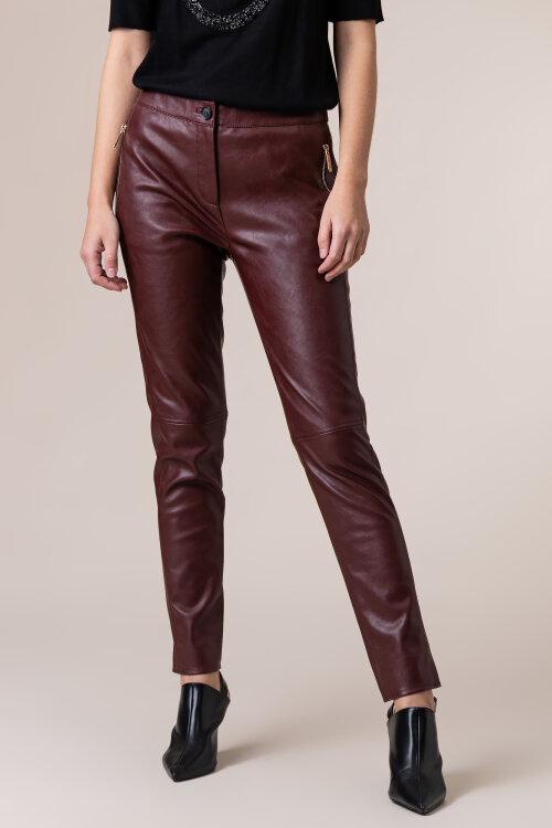 Spodnie Trussardi Jeans 56P00229_1T002169_B140 bordowy
