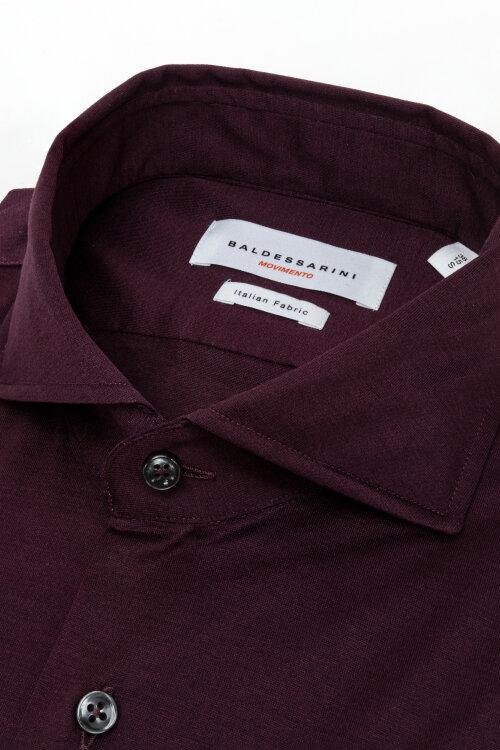 Koszula Baldessarini 4915_11000_7000 bordowy