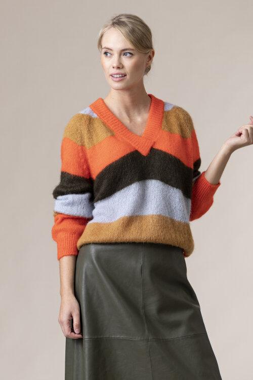 Sweter Trussardi Jeans 56M00346_0F000561_G612 pomarańczowy