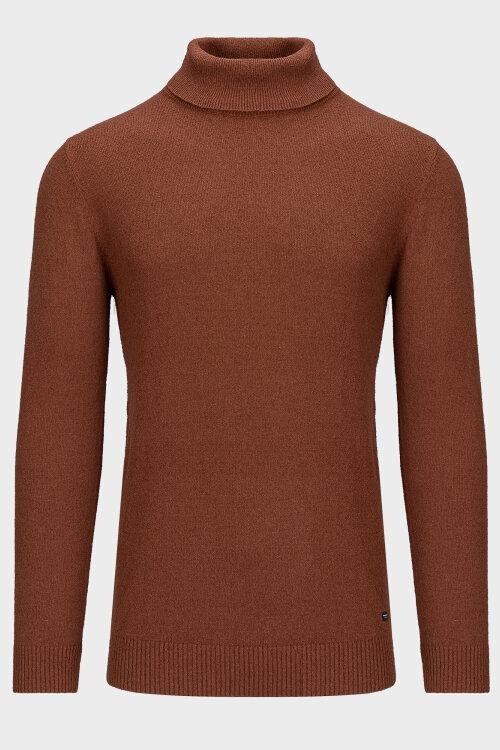 Sweter Gabba GORMELY ROLL_709 TORTOISE SHELL brązowy