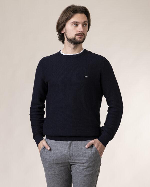 Sweter Fynch-Hatton 1220220_690 granatowy
