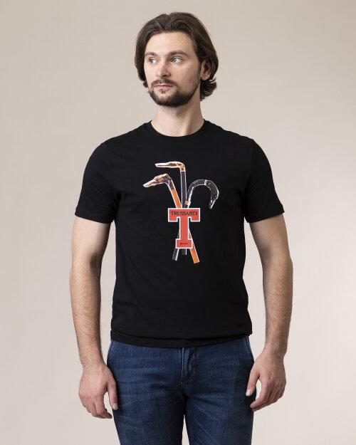 T-Shirt Trussardi  52T00431_1T003076_K299 czarny