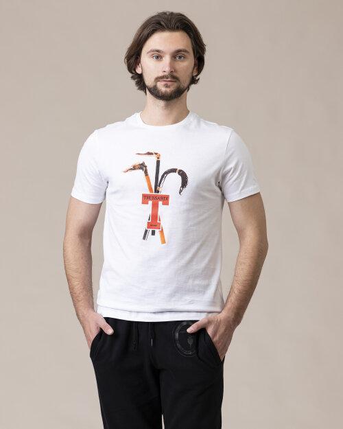 T-Shirt Trussardi  52T00431_1T003076_W001 biały