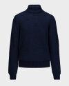 Sweter Trussardi Jeans 52M00414_0F000578_U290 granatowy