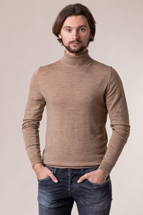 Sweter Matinique 30204905_21145 brązowy