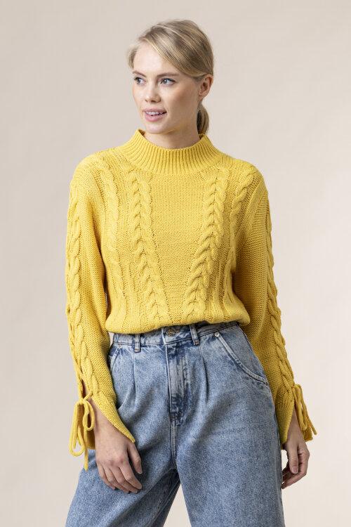 Sweter Na-Kd 1100-003072_DUSTY YELOW żółty