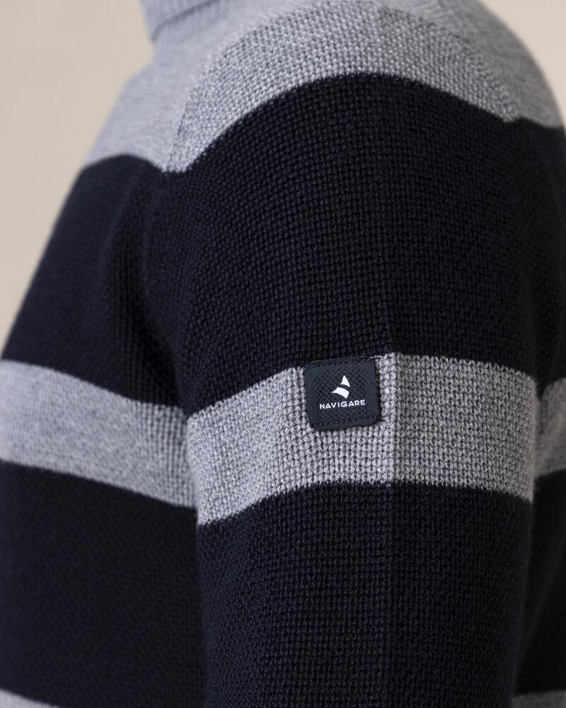Sweter Navigare NV1030433_001 czarny - fot:3
