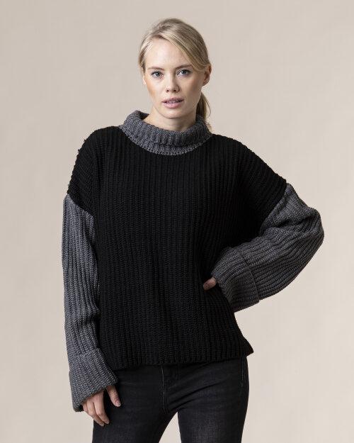 Sweter Na-Kd 1100-003636_BLACK/GREY czarny