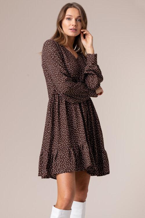 Sukienka Fraternity JZ20_MICHELLE_BROWN brązowy