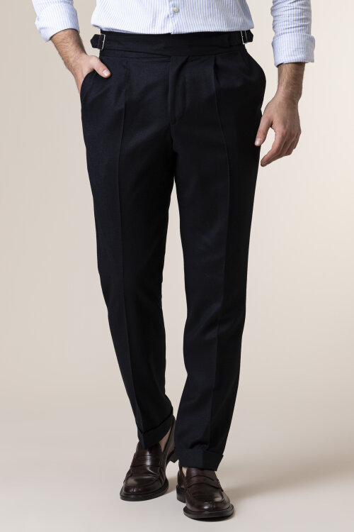 Spodnie Cavaliere 20AW20510_COY-LYNCH_79 granatowy