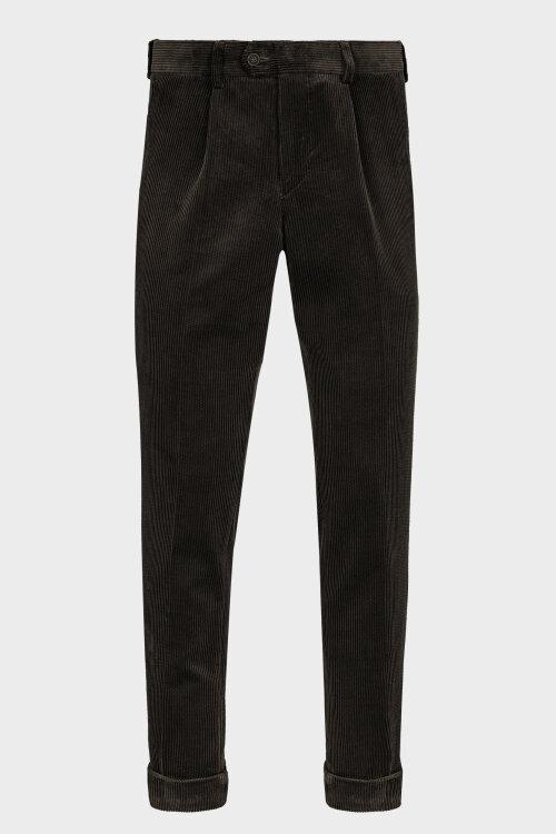 Spodnie Cavaliere 20AW20401_ALLEN SLIM_80 zielony