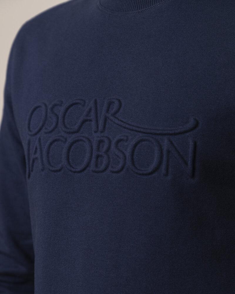 Bluza Oscar Jacobson KACEY 6947_5549_213 granatowy - fot:3