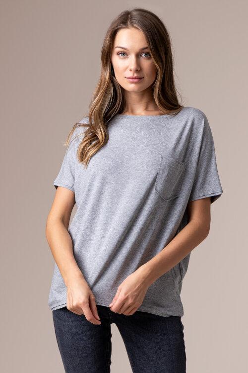 T-Shirt Fraternity NOS_W-TSH-0046 NOS_GREY/V szary