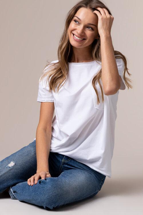T-Shirt Fraternity NOS_W-TSH-0046 NOS_WHITE/B biały