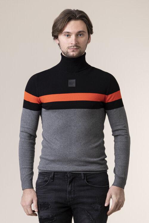 Sweter Antony Morato MMSW01080_9000 szary