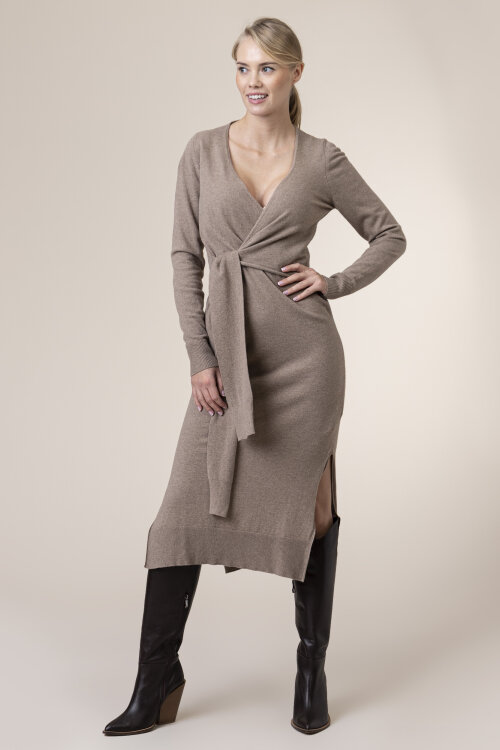 Sukienka Trussardi Jeans 56D00402_0F000565_B125 beżowy
