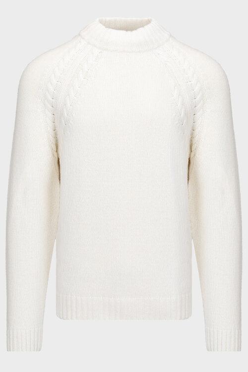 Sweter Oscar Jacobson WALKELEY 6945_5539_913 kremowy